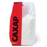 Сахар-песок 0,9 кг, полиэтиленовая упаковка