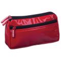 Пенал-косметичка BRAUBERG «Milan» (БРАУБЕРГ «Милан»), «глянцевая кожа», красный, 20-10-4 см
