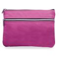 Пенал-косметичка BRAUBERG «Monro» (БРАУБЕРГ «Монро»), «фактурная кожа», розовый, 24-17 см