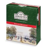 "Чай AHMAD (Ахмад) ""English Breakfast"", черный, 100 пакетиков по 2 г, 600i-08"