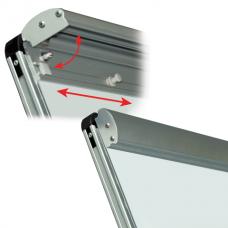Зажим-держатель блокнота для магнитно-маркерных досок BRAUBERG (БРАУБЕРГ), магнитный, съёмный