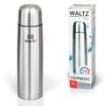 Термос WALTZ (ВАЛЬЦ) классический с узким горлом, 0,5 л, нержавеющая сталь
