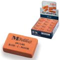 """Резинка стирательная KOH-I-NOOR """"Mondeluz"""", прямоуг, 31х21х7мм, оранжевая, картонный дисплей,6811/60"""