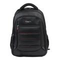 """Рюкзак для школы и офиса BRAUBERG """"Flagman"""", разм. 46*35*25см, 35 л, ткань, черно-красный, 224454"""