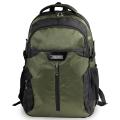 """Рюкзак для школы и офиса BRAUBERG """"StreetRacer 2"""", разм. 48*34*18см, 30 л,ткань,черно-зеленый,224450"""