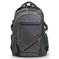 """Рюкзак для школы и офиса BRAUBERG """"MainStream 1"""", разм. 45*32*19см, 35 л, ткань, серо-синий, 224445"""