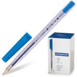 Ручка шариковая STAEDTLER Stick Document, корпус прозрачный, 1,2мм, линия 0,5мм, синяя, 430 M 03