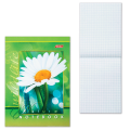 Блокнот А6, 124-144 мм, 48 л., «Хатбер», обложка мелованный картон, «Живые моменты»