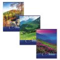 Тетрадь 80 л., А4, «Хатбер» (VK), клетка, обложка мелованный картон, «Nature» («Природа»)
