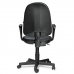"""Кресло оператора """"Престиж"""", регулируемая спинка, с подлокотниками, кожзам, черное, ш/к 82301"""