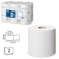 Бумага туалетная 112м, TORK (Система T9) SmartOne, КОМПЛЕКТ 12шт, Advanced, 2-сл, белая, 472193