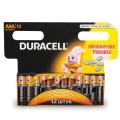 Батарейки DURACELL AАA LR3, комплект 12 шт., в блистере, 1,5 В (работают до 10 раз дольше)