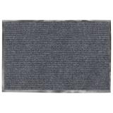 Коврик входной ворсовый влаго-грязезащитный VORTEX, 60х40см, толщина 7мм, серый, 22075
