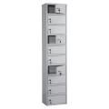 Шкаф кассира ПРАКТИК «AMB-140/10» на 10 отделений, 1400-300-220 мм, ключевые замки, собранный