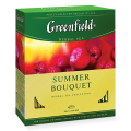 Чай GREENFIELD «Summer Bouquet» («Летний букет»), травяной, 100 пакетиков в конвертах по 2 г