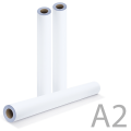 Рулон для плоттера и инженерных машин BRAUBERG (БРАУБЕРГ), А2, 420 мм х 175 м х втулка 76 мм х диаметр 170 мм, 80 г/м, CIE 146%