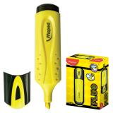 """Текстмаркер MAPED (Франция) """"Fluo Pep's Classic"""", скошенный наконечник 1-5 мм, желтый, 742534"""