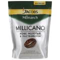 Кофе растворимый JACOBS MONARCH «Millicano», 150 г, мягкая упаковка