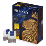 Чай RICHARD «Royal Ceylon» («Ричард Роял Цейлон»), черный, 100 пакетиков по 2 г