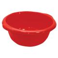 Таз 16л хозяйственный, круглый, с ручками, пластиковый, (в18*ш45*г49см), цвет красный, IDEA, М 2507