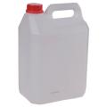 Канистра 5л (5дм3), полиэтилен (ПЭНД), с крышкой, для пищ и хим продуктов, классич, (в28*ш19*г13)