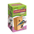 """Набор для детей деревянный Кормушка для птиц """"Синичник"""" (26х12х13 см), неокрашенный, 10 КОР, 01574"""