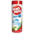 """Чистящее средство ПЕМОЛЮКС 480г, Сода-5 """"Яблоко"""", порошок"""