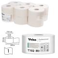 Бумага туалетная 200м, VEIRO Professional (Система T2), КОМПЛЕКТ 12шт, Basic, T102