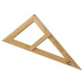 Треугольник  для классной доски (треугольник классный), деревянный 60*30*40см, прямоугольный, С364