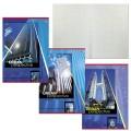 Тетрадь 48л. ЭКОНОМ А4, офсет №2 (темные листы), HATBER, клетка, обложка мелованная бумага, Urban Perspektive, 48Т4D3 (T226155)