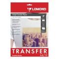 Бумага термотрансферная LOMOND для светлых тканей, А4, 10 шт., 140 г/м2 0808411