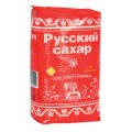 """Сахар песок """"Русский"""" 1 кг, полиэтиленовая упаковка, ш/к 20424"""