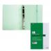 Тетрадь на кольцах, 120л., HATBER, пластик. обл., DIAMOND-зеленая. 120ТК5Bр1_02034 (T166468)