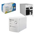 Стабилизатор напряжения DEFENDER AVR Real 1000, 500Вт, вх.напр. 150-280В, 4 розетки, серый., 99019
