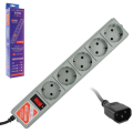 Сетевой фильтр POWER CUBE B для подключения к UPS, 5 розеток, 1,9 м