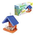 Набор для детей деревянный Кормушка для птиц №2 (20х20х14 см), цветной, 10 КОР, 01640