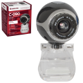 Веб-камера DEFENDER C-090, 0.3Мп, микрофон, USB 2.0, рег.креп., черн., 63090