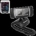 Веб-камера DEFENDER G-lens 2597 HD720p, 2Мп, микрофон, USB2.0,автофокус, автослеж, рег.креп., черн., 63197