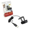 Веб-камера GENIUS Facecam 1000X V2, 1Мп., микрофон, USB 2.0, рег.креп., черный, 23101