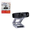 Веб-камера GENIUS Facecam 320, 0,3 Мп, микрофон, USB 2.0, рег.креп., черно+серебрянный, 12100