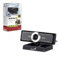 Веб-камера GENIUS Facecam Widecam F100, 12Мп, микрофон, черный, 13101