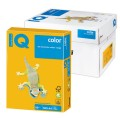 Бумага IQ (АйКью) color А4, 80 г/м, 500 л., интенсив солнечно-желтая SY40 ш/к 00853