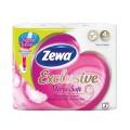 Бумага туалетная быт., спайка 4 шт., 4-х слойная,(4х17,4м),ZEWA Exclusive Ultra Soft,144112,ш/к32532