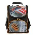 Ранец жесткокаркасный BRAUBERG, для начальной школы, мальчик, Тигр, 17 литров, 34*26*16 см
