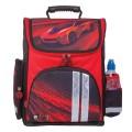 Ранец жесткокаркасный BRAUBERG, для начальной школы, мальчик, Красная фурия, 20 литров, 38*29*16 см