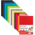 Цветной фетр для творчества А4 210*297мм BRAUBERG 15л., 15цв., толщ. 2мм, 660623