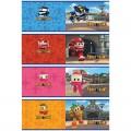 Альбом д/рис. А5 12л. BG, обл.мел.карт., 100г/м, Robot trains, А5ск12 3813