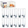 """Набор посуды стаканы для сока, виски LUMINARC """"OCTIME"""", 6 шт, 300 мл, низкие, стекло, H9810"""
