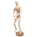 """Манекен (кукла) человека художественный """"Сонет"""", женский, дерево, высота 50см"""
