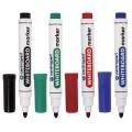 Маркеры для доски CENTROPEN, набор 4 штуки, круглый наконечник, 2,5 мм, (черный, красный, синий, зеленый), 8559/4PVC